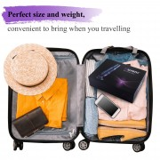 "Hismith Pro Traveler, Portable Sex Machine with Remote Controller - KlicLok System - 6.8"" Insertable Silicone Dildo"