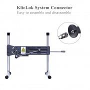"""Hismith 7,28"""" Silikon-Knopfpfropfen mit KlicLok-System für Hismith Premium Sexmaschine, 6,69"""" Länge zum Einführen, Umfang 6,2"""" D"""