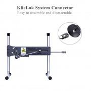 """Hismith 7,08""""G-Punkt Silikon Anal Plug mit KlicLok-System für Hismith Premium Sexmaschine, 6,5"""" Länge zum Einführen, Umfang 5,1"""""""