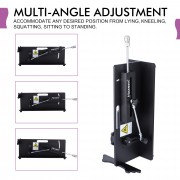 Hismith Tischplatte 2 - Premium Sexmaschine mit KlicLok System, Ak-07