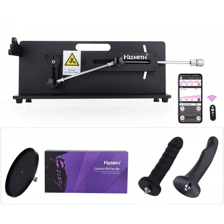 Hismith Table Top 2.0 Pro - Premium Sex Machine with APP/Remote/Wire - Bundle