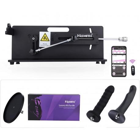 Hismith Table Top 2.0 Pro - Premium Sex Machine med APP / Remote / Wire - Bundle