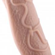 Hismith 28.7cm Multi-Texturing Thick Silicone Dildo with KlicLok System for Hismith Premium Sex Machine