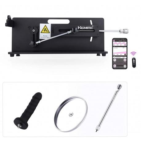 Hismith Table Top 2.0 Pro - Premium Sexmaschine mit App Steuerung und Kabelgebundene Fernbedienung