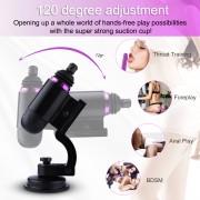 Hismith Capsule - Handgehaltene Premium-Sexmaschine mit KlicLok-System - App-Steuerung Mini-Sexmaschine mit Reisetasche